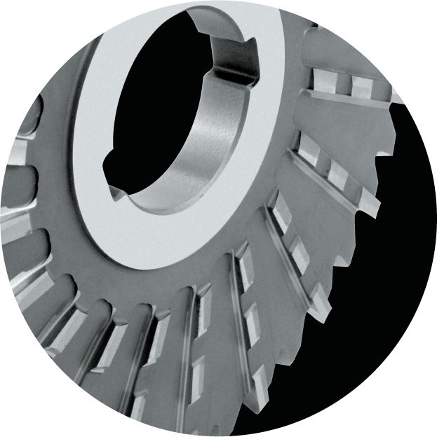 Large diameters profiled side and face milling cutters